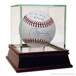 """Gary Sanchez Signed Limited Edition Baseball Inscribed """"33 HR NYY C Record"""" with High Quality Displa"""