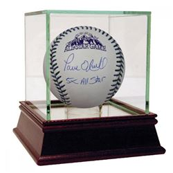 "Paul O'Neill Signed 1998 All-Star Game Baseball Inscribed ""5X All Star"" with High Quality Display Ca"