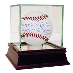 "Brooks Robinson Signed Baseball Inscribed ""Human Vacuum Cleaner"" with High Quality Display Case (MLB"