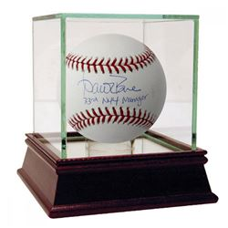 "Aaron Boone Signed OML Baseball Inscribed ""33rd NYY Manager"" with High Quality Display Case (Steiner"