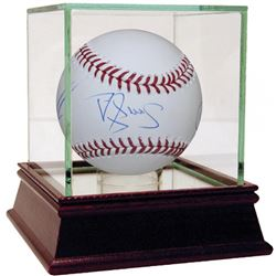 OML Baseball Signed by (4) with Darryl Strawberry, Dwight Gooden, Jesse Orosco,  Mookie Wilson  High
