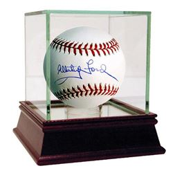 Whitey Ford Signed Baseball with High Quality Display Case (MLB Hologram  Steiner COA)