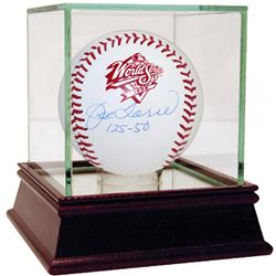 "Joe Torre Signed 1998 World Series Baseball Inscribed ""125-50"" with High Quality Display Case (Stein"