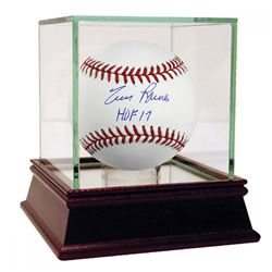 "Tim Raines Signed Baseball Inscribed ""HOF 17"" with High Quality Display Case (Steiner COA)"