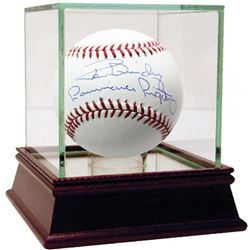 "Ron Guidry Signed Baseball Inscribed ""Louisiana Lightning"" with High Quality Display Case (Steiner C"