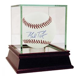 Mark Teixeira Signed Baseball with High Quality Display Case (Steiner COA)