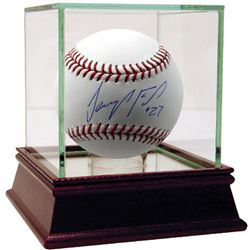 Jeurys Familia Signed Baseball with High Quality Display Case (Steiner COA)