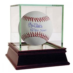 "Graig Nettles Signed Baseball Inscribed ""Boston Sucks"" with High Quality Display Case (Steiner C"