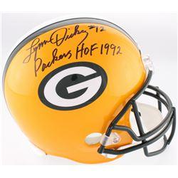 "Lynn Dickey Signed Packers Full-Size Helmet Inscribed ""Packers HOF 1992"" (JSA COA)"