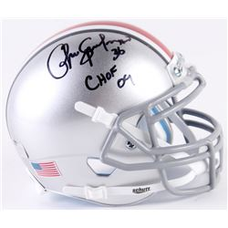 "Chris Spielman Signed Ohio State Buckeyes Mini-Helmet Inscribed ""CHOF 09"" (Radtke Hologram)"