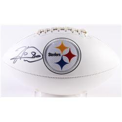Hines Ward Signed Steelers Logo Football (JSA COA)
