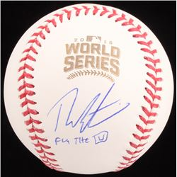 "Theo Epstein Signed 2016 World Series Baseball Inscribed ""Fly The W"" (Schwartz COA)"