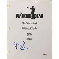 "Norman Reedus Signed ""The Walking Dead"" Episode Full Script (PSA COA)"
