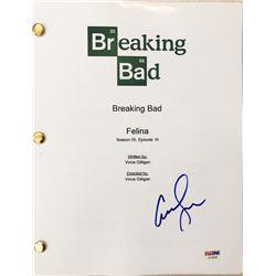 """Anna Gunn Signed """"Breaking Bad"""" Episode Full Script (PSA COA)"""