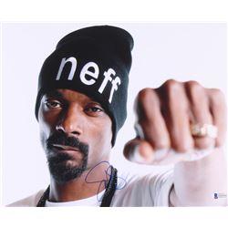 Snoop Dogg Signed 11x14 Photo (Beckett COA)