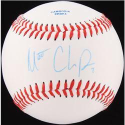 Matt Chapman Signed OL Baseball (JSA COA)
