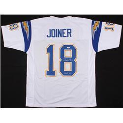 """Charlie Joiner Signed Chargers Jersey Inscribed """"HOF 96"""" (JSA COA)"""