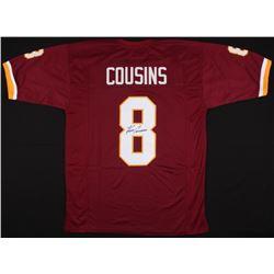 Kirk Cousins Signed Redskins Jersey (JSA COA)