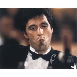"Al Pacino Signed ""Scarface"" 16x20 Photo (PSA COA)"