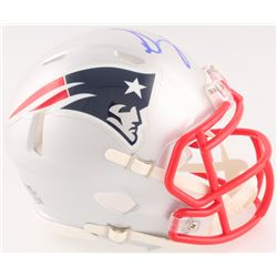 Sony Michel Signed Patriots Mini Speed Helmet (Radtke COA)