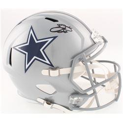 Emmitt Smith Signed Cowboys Full-Size Speed Helmet (Prova COA)