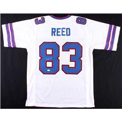 Andre Reed Signed Bills Jersey (JSA COA)