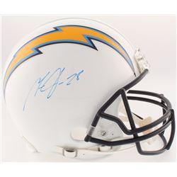 Melvin Gordon Signed Chargers Full-Size On-Field Helmet (Radtke COA)