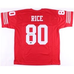 Jerry Rice Signed 49ers Jersey (Radtke COA)