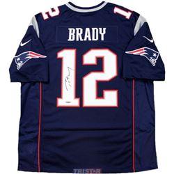 Tom Brady Signed Patriots Nike Limited Jersey (TriStar Hologram)