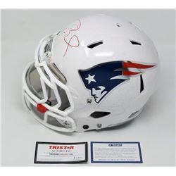 "Tom Brady Signed Patriots LE ""Tom Brady Edition"" Full-Size Authentic On-Field Helmet (Steiner COA  T"