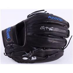 Clayton Kershaw Signed Wilson 2018 Baseball Glove (Online Authentics COA)