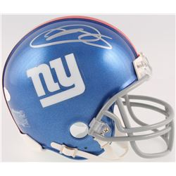 Odell Beckham Jr. Signed Giants Mini Helmet (JSA COA)