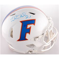 Fred Taylor Signed Florida Gators Full-Size On-Field Throwback Helmet (Radtlke COA)