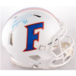 Jevon Kearse Signed Florida Gators Full-Size On-Field Throwback Helmet (Radtlke COA)
