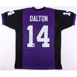 Andy Dalton Signed TCU Horned Frogs Jersey (JSA COA  Dalton Hologram)