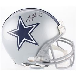 Troy Aikman Signed Cowboys Full-Size On-Field Helmet (Beckett COA)