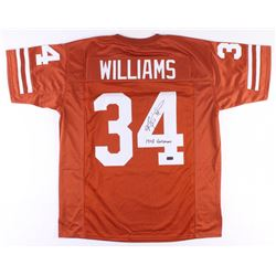 "Ricky Williams Signed Texas Longhorns Jersey Inscribed ""1998 Heismen"" (Radtke COA)"