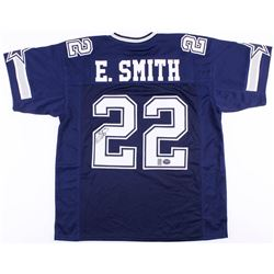 Emmitt Smith Signed Cowboys Jersey (Prova  Smith Hologram)