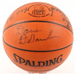 Knicks 1970 Champions Official NBA Game Ball Signed by (7) with Dave DeBusschere, Willis Reed, Red H