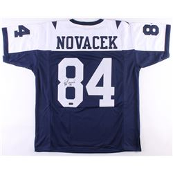 Jay Novacek Signed Cowboys Thanksgiving Jersey (Radtke COA)