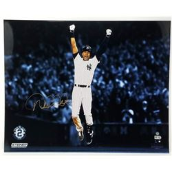 "Derek Jeter Signed Yankees ""Magic Moments"" 16x20 Photo (Steiner COA)"
