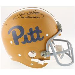 "Tony Dorsett Signed Pittsburgh Panthers Full-Size TK Suspension Helmet Inscribed ""76 Heisman"" (Radtk"