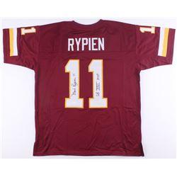 "Mark Rypien Signed Redskins Jersey Inscribed ""SB XXVI MVP"" (JSA COA)"