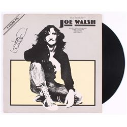 "Joe Walsh Signed ""Four Tracks From Joe Walsh"" Vinyl EP Record Cover (REAL LOA)"