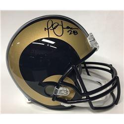 Marshall Faulk Signed Rams Full-Size Helmet (JSA Hologram)