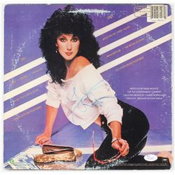 "Cher Signed ""I Paralyze"" Vinyl Record Album Cover (JSA COA)"