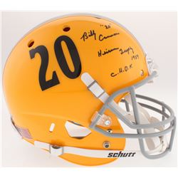 "Billy Cannon Signed LSU Tigers Full-Size Helmet Inscribed ""C.H.O.F.""  ""Heisman Trophy 1959"" (Radtke"