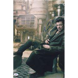 """Benicio del Toro Signed """"Star Wars: The Last Jedi"""" 12x18 Photo (PSA COA)"""