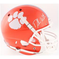 Deshaun Watson Signed Clemson Tigers Full-Size Helmet (Beckett COA)