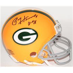 "Paul Hornung Signed Packers Mini Helmet Inscribed ""HOF 86"" (Schwartz COA)"